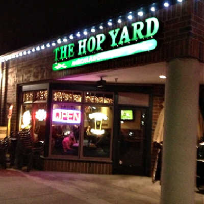 Entry to The Hop Yard, San Ramon, CA