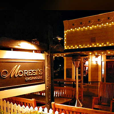 Entrance to Moresi's Chophouse, Clayton, CA