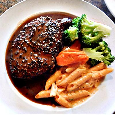 New York Pepper Steak