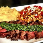 Family Style Chimichurri Steak Dinner