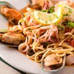 Calamari con Linguini Da Nina $13.17