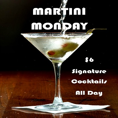 Martini Monday @ Zephyr!