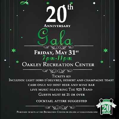 Celebrate Oakley's 20th Anniversary Gala