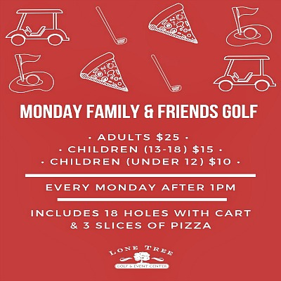Monday Family & Friends Golf