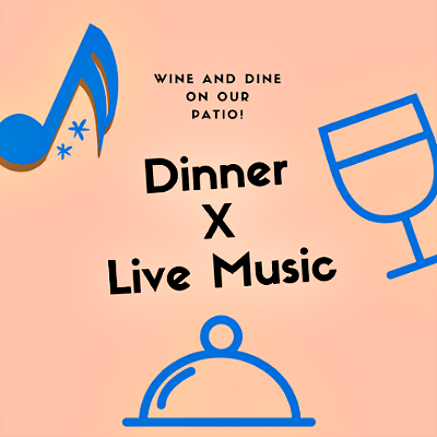Deliciousness & Live Music Wed thru Sat Starting @ 5 PM!