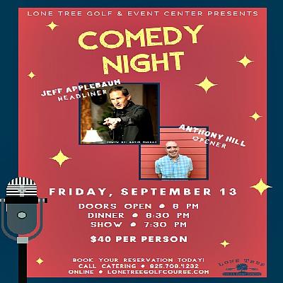 Comedy Dinner Show with Jeff Applebaum