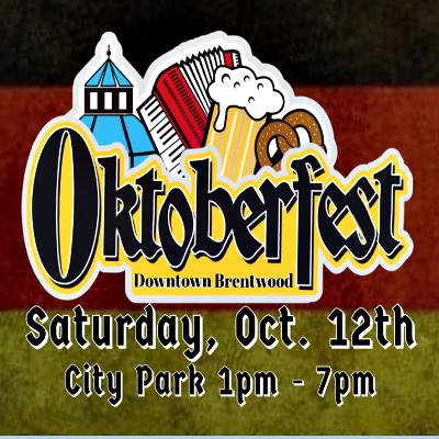 Oktoberfest 2019 in Downtown Brentwood