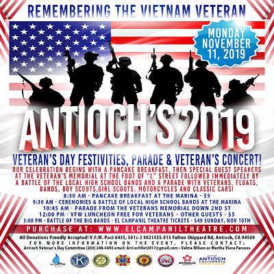 Antioch Veterans Day Celebration!