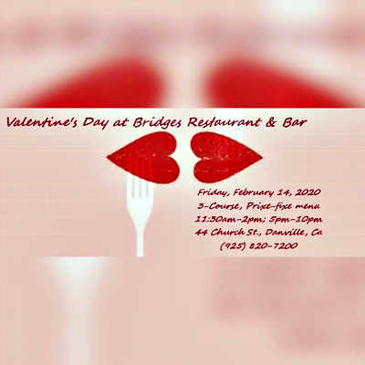 Valentine's Day @ Bridges Restaurant