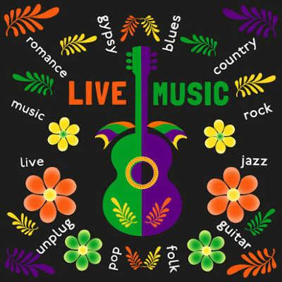 LIVE MUSIC at Bridges and Vine & Spirits