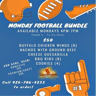 "Monday Night Football ""To-Go"" Bundle"
