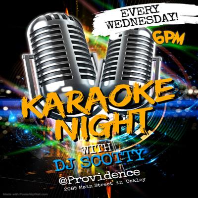 Karaoke w/DJ Scotty