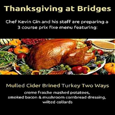 Thanksgiving Day Dinner @ Bridges