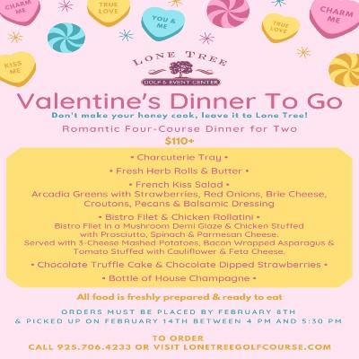 LTG&EC Valentine's Dinner To Go