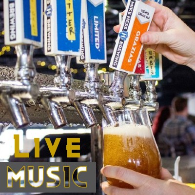 LIVE MUSIC & MIKE HESS BREWING
