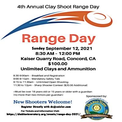 Diablo View Rotary: Range Days