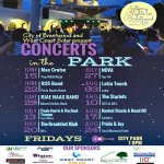 2018 STARRY NIGHTS CONCERTS IN THE PARK