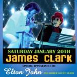 JAMES CLARK ELVIS DINNER SHOW WITH SPECIAL GUEST ELTON JOHN TRIBUTE