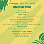 Brazilian Buffet Family Dinner