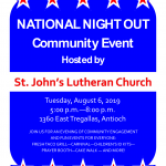 NATIONAL NIGHT OUT Community Event