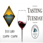 Tasting Tuesday Featuring Bloomfield Vineyards