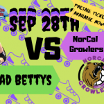 Undead Bettys vs. NorCal Growlers