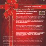 Oakley Christmas tree lighting