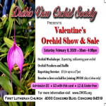 Valentine's Orchid Show & Sale