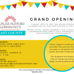 Grand Opening - Cancer Support Community