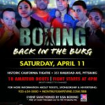 Boxing Back in the Burg