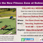 DeAnza Park Community Virtual/Online Event