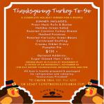 Thanksgiving Turkey To-Go