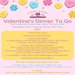 LTG&EC Valentine's Dinner To Go