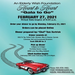 """20th Annual Heart to Heart """"Gala To Go"""""""