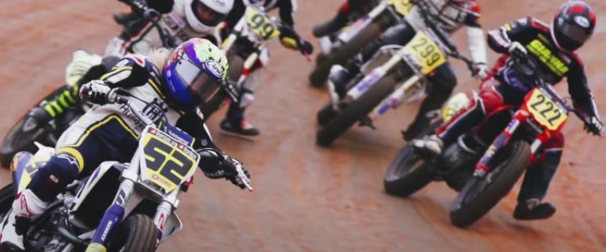 Flat Track Motorcycle Racing Saturday!