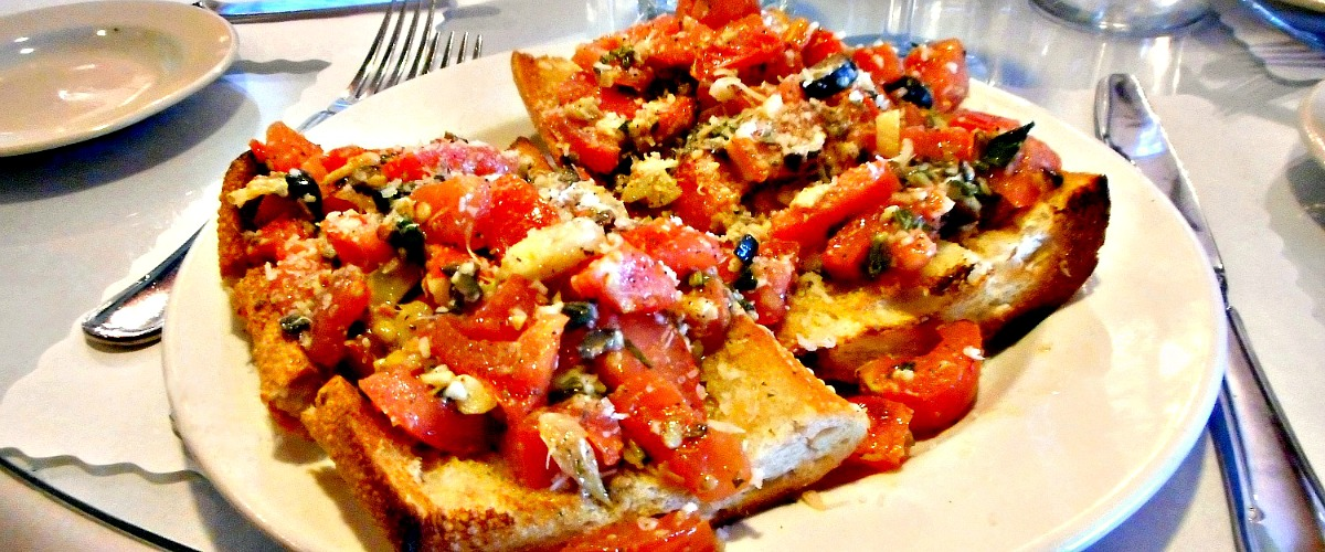 Something To Love.....  The $9.95 Bruschetta